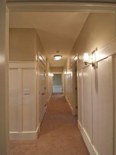 good way to dress up a boring long hallway