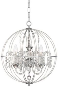 "Anahola Chandelier: ""Hey gurl."" Jaime (looking down): ""Hi, Anahola Crystal Chandelier.""  Anahola Chandelier: ""I see that vacant spot above your dining table. It looks real lonely..."" Jaime: ""..."""