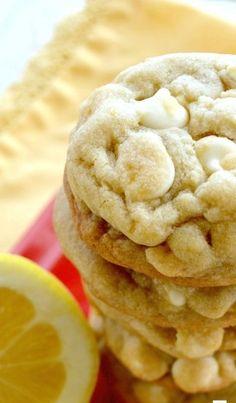 Lemon White Chocolate Chip Cookies