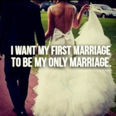 My first marriage....<3