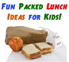 12 Fun Packed Lunch Ideas for Kids! ~ at TheFrugalGirls.com