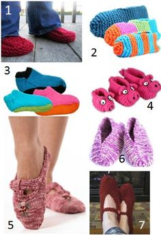 Keep feet warm this winter with this collection of 8 Knit Must-Have Patterns for Slippers.  These also make excellent last-minute gifts.