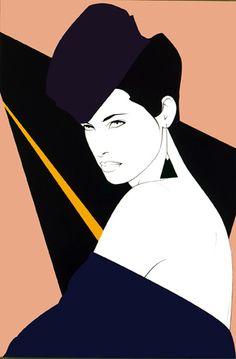 Patrick_Nagel_80s_Fashion_Illustrations