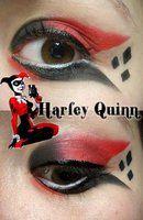 Harley Quinn Makeup by ~Steffmiesterx13 on deviantART