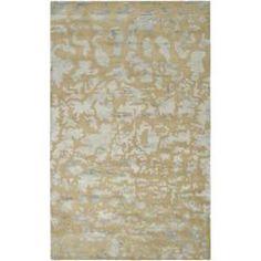 Handmade Soho Taupe/ Light Grey New Zealand Wool Rug (6' x 9')