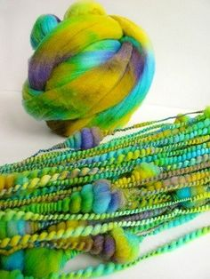 by Paula Moliver coils yarn