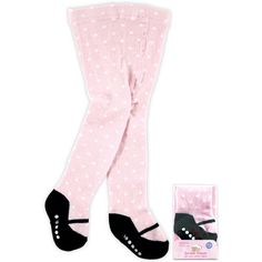 Mary Jane Non-Skid Cotton Tights, 0-9 months [Apparel]