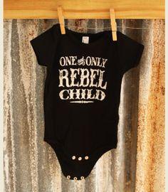 REBEL CHILD ONESIE - Junk GYpSy co.