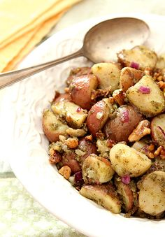 Pesto Potato Salad w