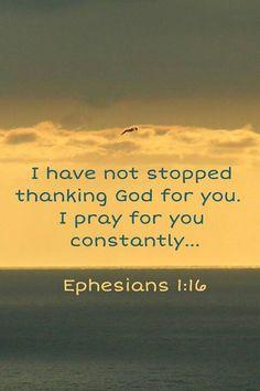 ephesians 1:16, god, faith, jesus, vers, inspir, son, prayers, quot