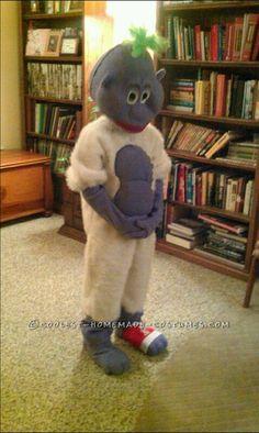 Comedian Jeff Dunham's Peanut Puppet Costume!