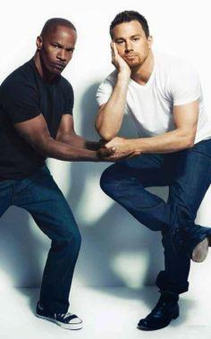 Channing Tatum and Jamie Foxx