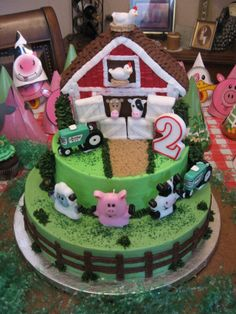 Farm Cake - maybe
