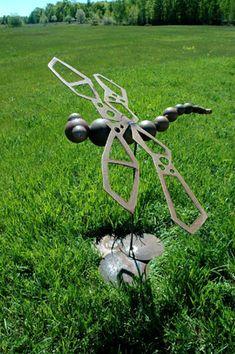 yard art ideas from junk   Hands On Art Studio » Metal Studio