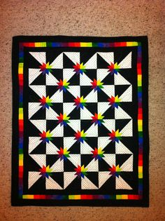 Final round quilt for McCall's Quilting Design Star Contest