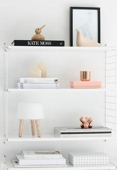 Rack / interior / all white / minimal design
