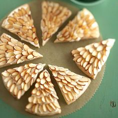 Almond Shortbread Wedges - Sensational Shortbread Cookies for Christmas