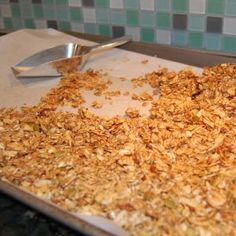Recipe: Granola Cereal - 100 Days of Real Food