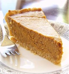 This is my #1 go to dairy free, soy free pumpkin pie recipe. I have used it for two years now and love it! Now if I could only figure out how to make it vegan and gluten free it would be a home run ;)