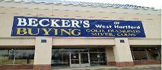 Becker's Gold Buying Store at 49/59 Pavilions Drive, Manchester, CT (Formerly Borders Book Store) ALSO SELLING JEWELRY!