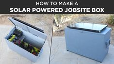 Making a Solar Powered Jobsite Box