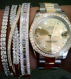 rolex & diamonds