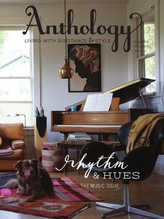 Anthology Magazine Issue No. 9, Rhythm and Hues. Cover photograph by Kelly Ishikawa.