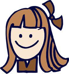 cute girl scout clip art