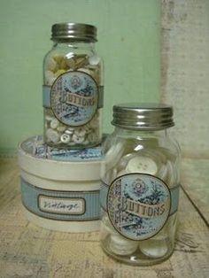 Jar labels to print, free!