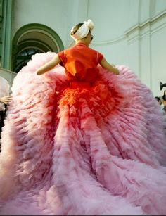 Giambattista Valli Couture Fall 2014 Backstage, Photographed by Kevin Tachman