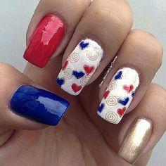 valentine by glamstylenailsbycarolina #nail #nails #nailart