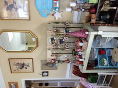 Merchandise display - created by @Truly Tina Boutique #Vintage Boutique