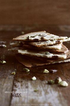 Honey Chocolate Pistachio Bark