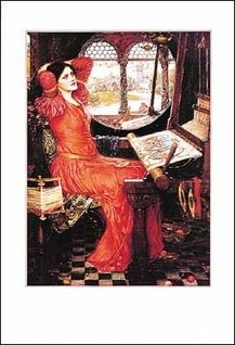 John William Waterhouse, The Lady of Shalott, Poster