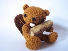 Crochet Beaver!