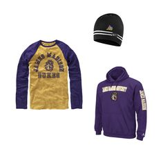 As the temperatures start to fall, make sure you're game day ready!  Stop by the bookstore to pick up this casual look that keeps you warm as you cheer on the Dukes!