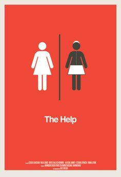 The Help #minimal #movie #poster
