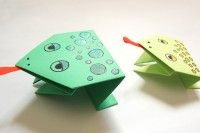 Origami Paper frogs