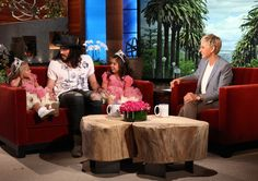 Russell Brand chats with Sophia Grace and Rosie