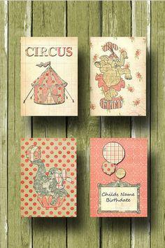 circus nursery art
