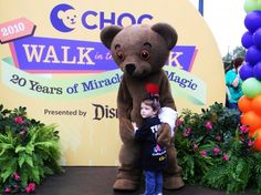 In this week's post, Choco Bear thanks the thousands of CHOC Walk participants through the years.