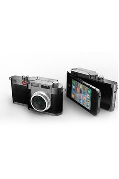 A camera that enhances photos you take with your iPhone