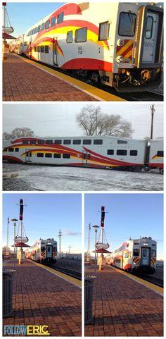 New Mexico Rail Runner Express #ABQ #SantaFe #travel #train