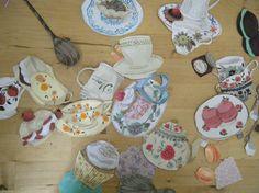 Tea and Cake - Emma Block Illustration