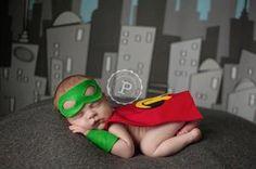 Handmade Robin Costume for Newborn Boy Photography Prop Superhero | eBay super hero theme, halloween parties, robin, super hero costumes, photographi prop, batman, babi, newborn photography props, boy photography