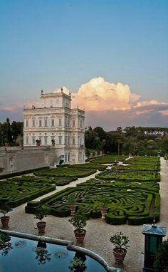 Villa Pamphilj, Rome, Italy