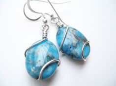 wire wrapping earrings