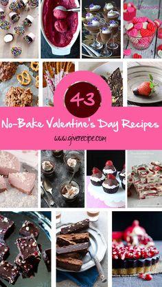 No-bake Valentines