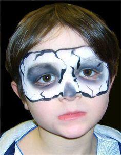 halloween face paintings for kids on pinterest  halloween