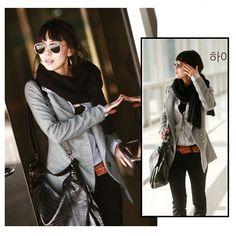 Tailored Medium Style Woollen Coat